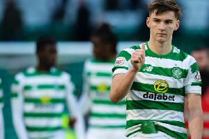 Kieran Tierney could be set for Celtic stay. Picture: SNS