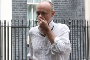 If you are a maverick genius, you don't have to worry about petty, mundane things like ironing a shirt (Picture: Jonathan Brady/PA Wire)