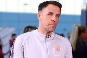 England Women and GB Olympic Women's team boss Phil Neville. Picture: Matthew Lewis/Getty