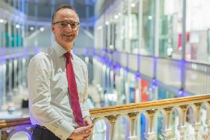Dr Gordon Rintoul has led an 80 million transformation of the National Museum of Scotland in Edinburgh since his appointment in 2002.
