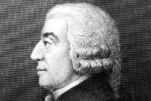 Adam Smith, who as well as The Wealth Of Nations, wrote The Theory Of Moral Sentiments. Picture: Hulton Archive/Getty