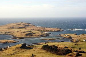 Mowi is hoping to create an organic fish farm housing around 2,500 salmon in seas off the Hebridean isle of Canna, which are some of the most protected in the UK