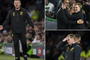 Neil Lennon went through all the emotions during the 4-3 loss to Cluj