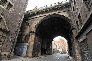 George IV Bridge viewed from the Cowgate. Picture: TSPL