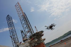 Drones are becoming increasingly commonplace in many industrial environments. Picture: Contributed