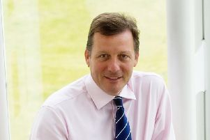 Adrian Grace is the chief executive of Edinburgh-based Aegon UK. Picture: Aegon