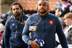 Prop Jefferson Poirot will captain France against Scotland. Picture:  Dan Mullan/Getty Images