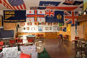 The Puff Inn on St Kilda will close next week after more than 50 years serving as the  social hub of the island. PIC: Historic Environment Scotland.