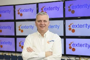 CEO Colin Farquhar 'said Exterity works with 'some of the most recognisable names in the Middle East'. Picture: Greg Macvean