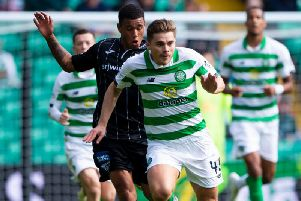 James Forrest scored Celtic's winner
