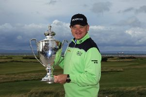 Paul Lawrie won the Scottish Senior Open at the weekend. Pic: SNS