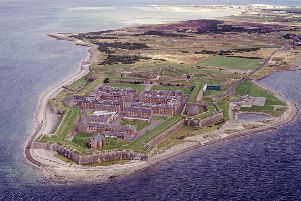 Fort George, which was designed by the Adam brothers, took 22 years to complete. PIC: HES.