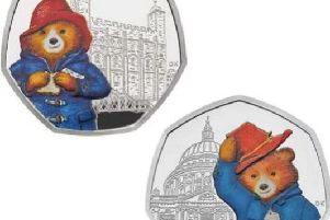 The new Paddington coins were released last week.
