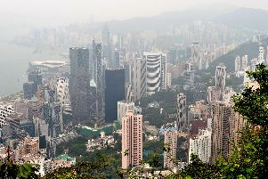 A general view of Hong Kong. Picture: PA/File