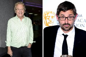 Louis Theroux and Jerry Springer are among the stars set to speak at the Edinburgh Television Festival. Pictures: Getty/PA