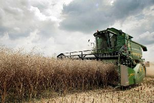 Farmers across the country have been unable to get machinery into fields due to waterlogged conditions and are now faced with cutting several crops within any short window of dry weather