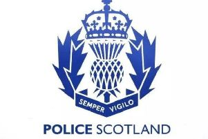 Police Scotland are in attendance.