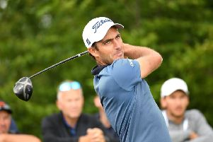 Edoardo Molinari in action at the Czech Masters in Prague. Picture: Ross Kinnaird/Getty