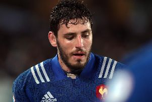 French lock Paul Gabrillagues. Picture: AFP/Getty Images
