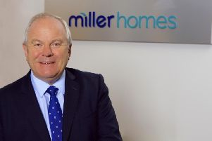 Chief executive Chris Endsorhailed Miller Homes' disciplined approach to land buying. Picture: contributed