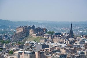 Edinburgh on a summer's day.