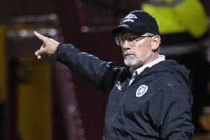 Hearts manager Craig Levein has taken the positives from the performance at Fir Park