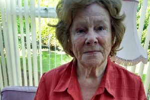 Moyra Taylor, who was refused treatment of her foot by an GP surgery.