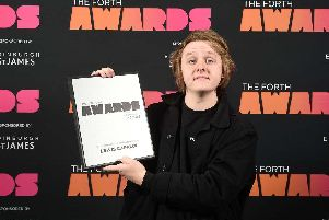 Lewis Capaldi at the 2018 awards