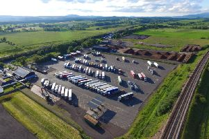 The 12-acre site is located near Johnstonebridge between junctions 16 and 17 of the busy M74. Picture: Contributed