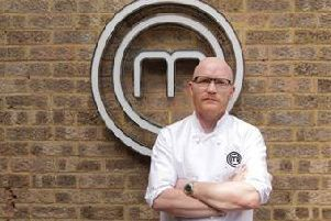 Glasow chef Gary MacLean after winning the top MasterChef title
