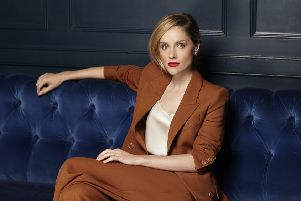 Sophie Rundle returns as Ada in the new season of Peaky Blinders. ''Picture: Debra Hurford Brown'''Hair, Jon Chapman; Makeup: Lisa Valencia';'Styling: Farrah O'Connor'. Jacket and trousers by Racil at Net-A-Porter.Com;  Shoes, Rupertsanderson.Com''Location:  With thanks to Quo Vadis, Soho (www.quovadissoho.co.uk)