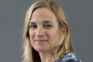 Tracy Chevalier. Picture: Dave Johnston