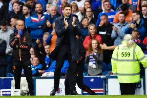 Steven Gerrard at Ibrox