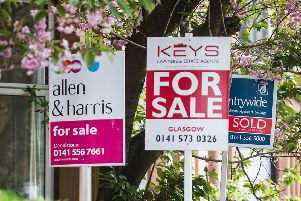 Glasgow's most affluent suburbs were among the areas with the highest property prices
