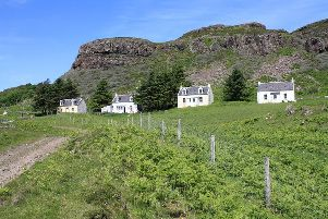 The Isle of Gometra is off-grid. Picture: Geograph