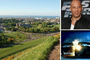 The Fast and Furious 9 production team will be setting up camp in Holyrood Park.
