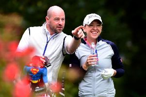 Heather MacRae will team up with friend and fellow Scot Craig Lee in the Fourball event. Picture: Richard Martin-Roberts/Getty