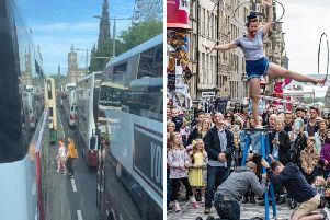 Lothian bus bosses admitted meeting Festival schedules was 'impossible'