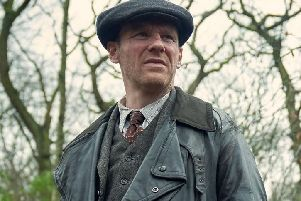 Dublin actor Brian Gleeson plays 'Bridgeton Billy Boys' gang leader Jimmy McCavern. Picture: Peaky Blinders/BBC One