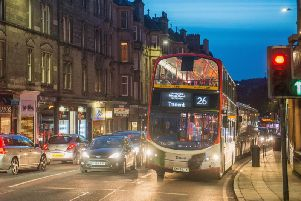 Lothian Buses admitted keeping their timetable during the festival season proved 'impossible'.