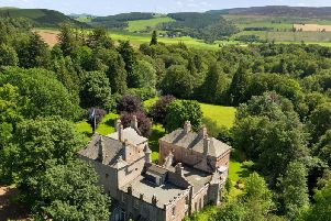 The estate includes potential for grouse shooting and deer stalking.