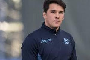 Centre Sam Johnson returns for Scotland in Georgia on Saturday. PICTURE: SNS/SRU