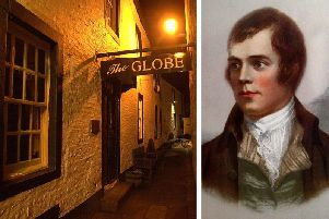 The Globe in Dumfries was Burns' favourite pub with new owners to revive the inn as a visitor attraction. PIC: TSPL/SWNS.