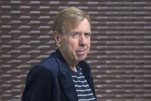 Timothy Spall, whose new film Mrs Lowry & Son, about the life of the iconic painter, is out now. Picture: Neil Hanna. Thanks to Apex Grassmarket Hotel, Edinburgh