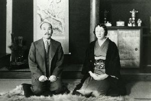Rita and Masataka Taketsuru in Japan. Picture: EDLC Archives & Local Studies