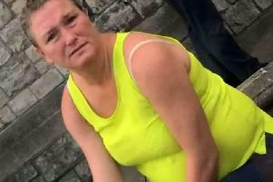 Rosie Smith, 41, groped the copper's bottom in Tunbridge Wells town centre in Kent, magistrates was told. Picture: SWNS