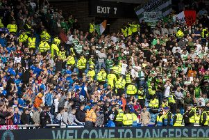 Celtic deservedly defeated Rangers. Picture: Craig Williamson/SNS