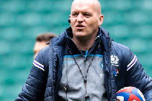 Head coach Gregor Townsend announces his 2019 Rugby World Cup squad today. PICTURE: SRU/SNS