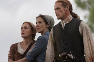The Frasers are expected to get caught up in the American Revolutionary War. (Picture: Starz)