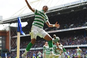 Christopher Jullien was imperious for Celtic. Picture: SNS